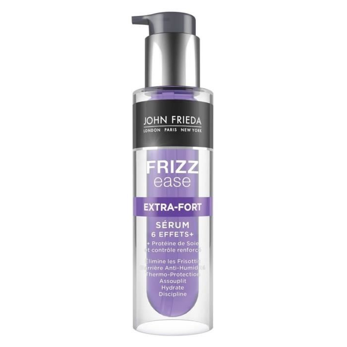 JOHN FRIEDA Sérum Frizz Ease Extra Fort 6 Effets - 50 ml - Achat ... d0badd2f8f2