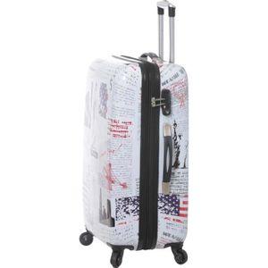 Valise TSA extensible polycarbonate SNOWBALL 66820F France 65 cm
