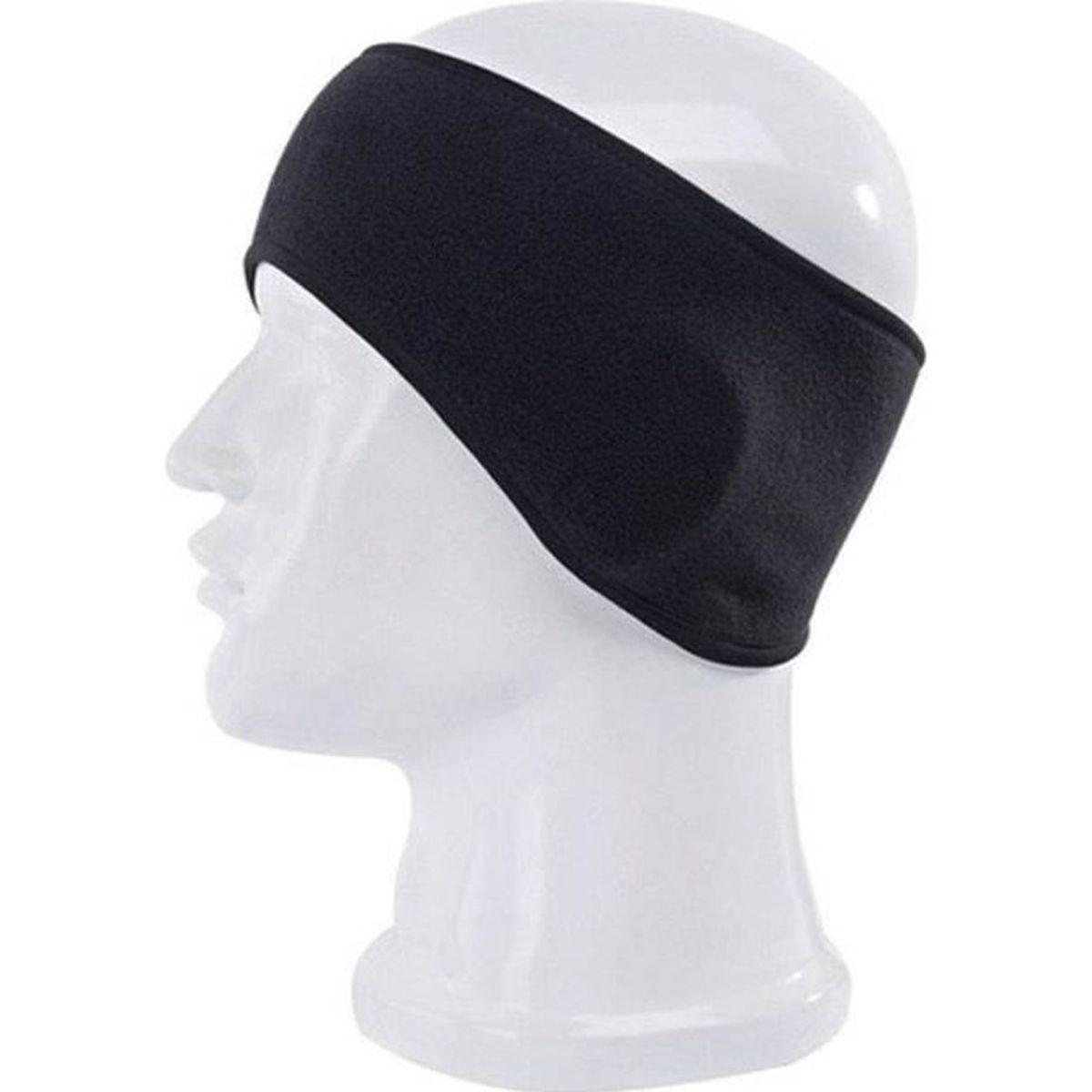Gris polaire bandeau hiver chaud chapeau oreille manchon chaud ski snowboard homme femme