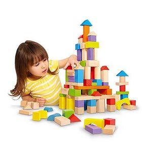 ASSEMBLAGE CONSTRUCTION Baril 150 cubes en bois