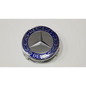 DÉCORATION VÉHICULE 4x Logo Jante Mercedes Cache Moyeu Centre De Roue