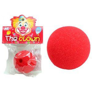 LPOQW Clown Nez /éponge Mousse Nez Accessoires Halloween Clown d/écoration Faux Nez Cirque d/écorations de f/ête Costume Magique Fournitures de f/ête