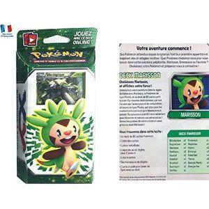 CARTE A COLLECTIONNER Deck pokemon XY MARISSON avec Blindépique 150 PV -