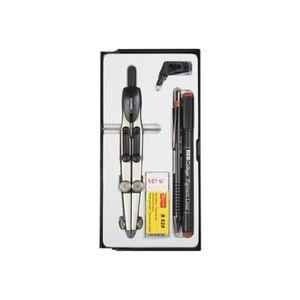 Pack écriture Aristo Jeu de compas, stylo à pointe en fibre et p