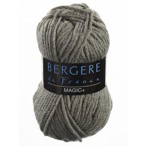 LAINE TRICOT - PELOTE BERGERE DE FRANCE Magic+ Silex Fil à Tricoter