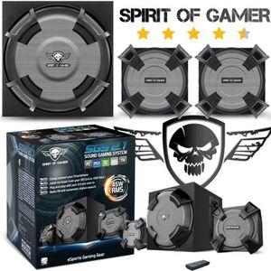 JEU PC Home cinéma PC Spirit of Gamer SGS 2.1 45W RMS Blu
