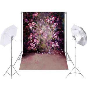 FOND DE STUDIO 1.5 * 2.1 m Fleur Mur Photographie Fond de Style M