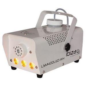 MACHINE À FUMÉE IBIZA LIGHT LSM400LED-WH Mini machine a fumée 400W