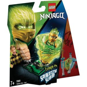 ASSEMBLAGE CONSTRUCTION LEGO® NINJAGO® 70681 Spinjitzu Slam - Lloyd - Jeu