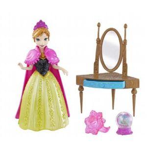 POUPÉE MATTEL Disney Frozen MagiClip petite poupée Anna G