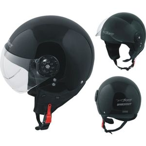 CASQUE MOTO SCOOTER Scooter Casque Moto Ville Jet Demi Anti Scratch Av