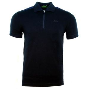 POLO POLO HUGO BOSS COL ZIP GREEN BI-TON