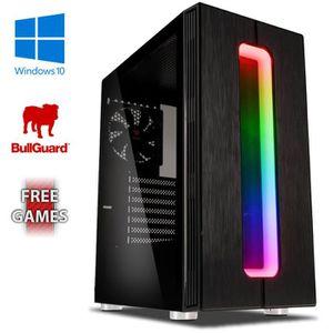 UNITÉ CENTRALE  VIBOX Clarity 9 PC Gamer - AMD 8-Core, Geforce GTX