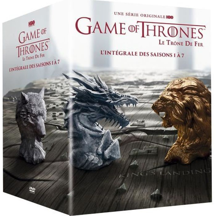 DVD SÉRIE Coffret DVD Game of Thrones, saisons 1 à 7