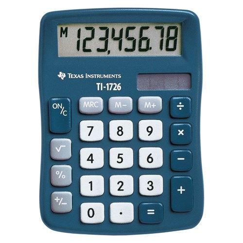 TEXAS - Calculatrice de poche 8 chiffres TI 1726