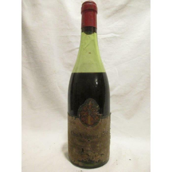 clos vougeot tastevinage grand cru rouge 1959 - bourgogne