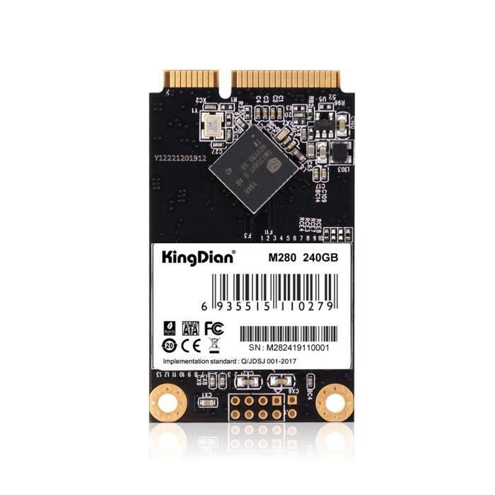 Disque dur interne SSD mSATA SSD 240 Go Mini SATA SSD pour ordinateur portable pour Dell ThinkPad