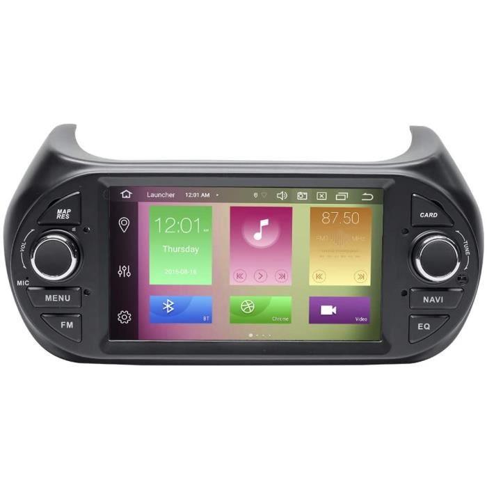 AUTORADIO pour Fiat Fiorino Qubo Citroen Nemo Peugeot Bipper 7-Autoradio St&eacuter&eacuteo Navigation GPS 2 Din Android 10.202