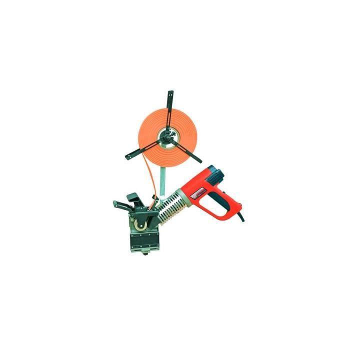 Plaqueuse de chant pré-encollé manuelle 540°C 230 V - 2000 W KAM50M