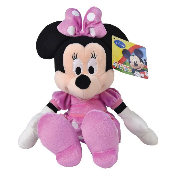 Disney Peluche Minnie Mouse, jouets, 43 cm, qualité très douce