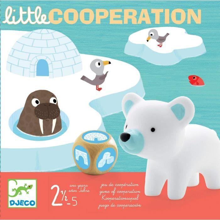 Djeco - Jeux d'action et de réflexion Jeux éducatifs DJECOGY Little Cooperation, Multicolore (15) 1303
