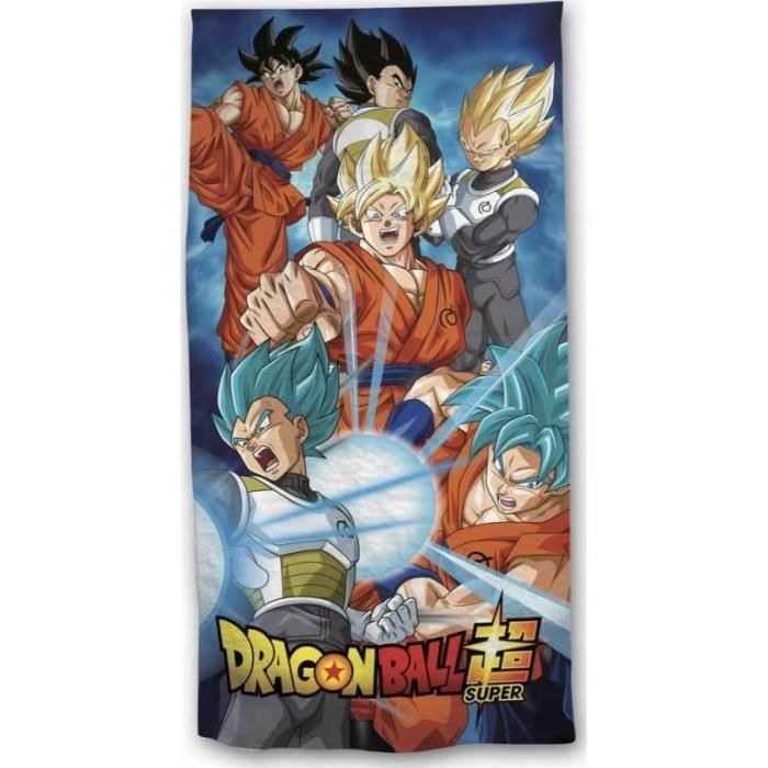 Dragon Ball Z-Drap de bain-Serviette de plage 70X140 cm.