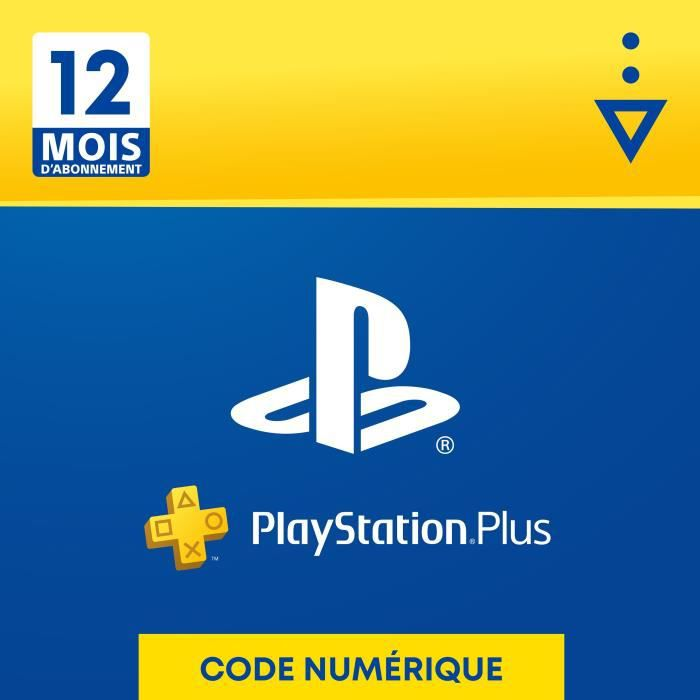 Abonnement 12 Mois au PlayStation Plus - Code de Téléchargement PS4 & PS5