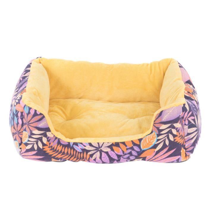 Tapis de sol pour animaux de compagnie épaissie lit moelleux confort courte peluche pad chiot KIT HABITAT - COUCHAGE