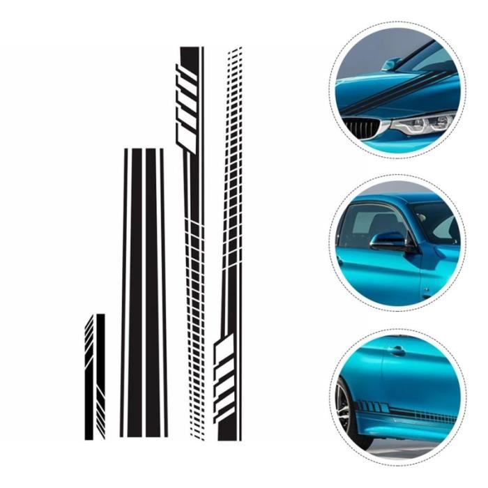 5 Pièces Véhicule Capot de Voiture autocollants personnalisation vehicule - decoration vehicule confort conducteur passager