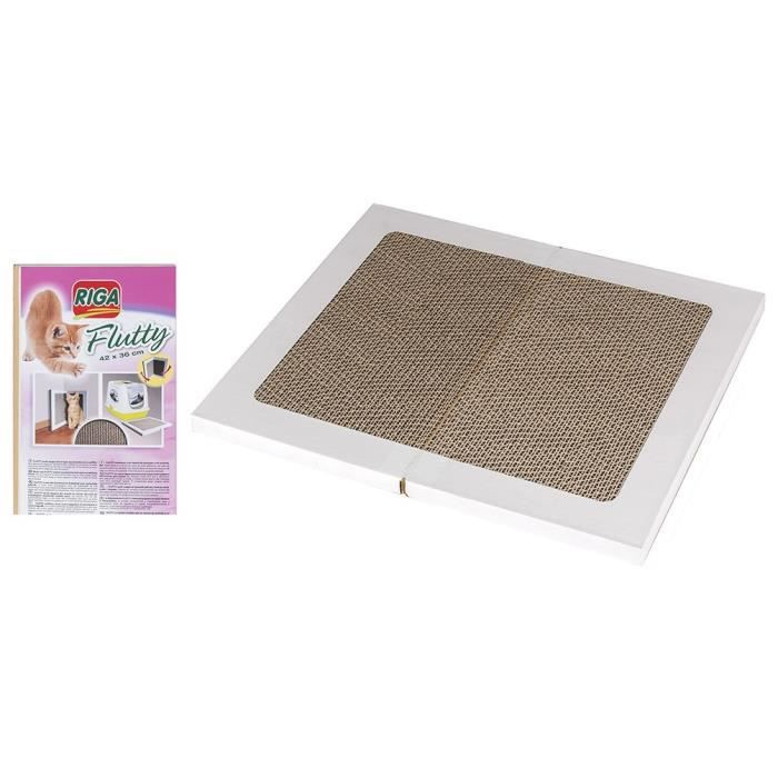 RIGA Griffoir multi-usage Flutty - pour chat - 42 x 36cm