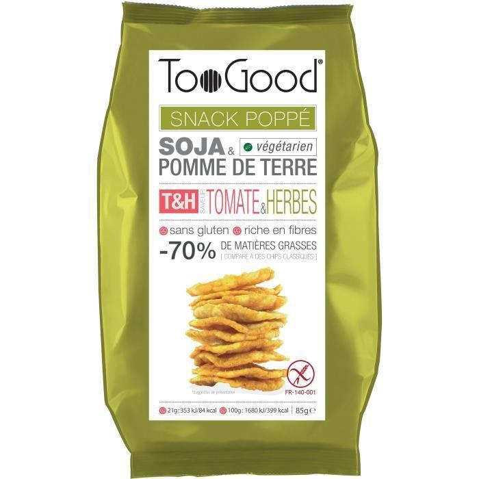 Biscuit apéritif tomate herbes 85 g TooGood