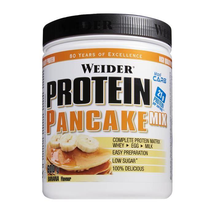 WEIDER - Protein Pancake Mix 600 g - Vanille