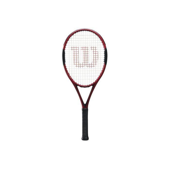 Raquette Wilson H5 tns - rouge/noir - 4