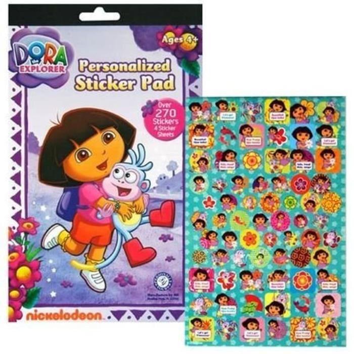 Jeu De Coloriage Ee1cm Dora L Exploratrice Sticker Pad Avec Plus De 270 Autocollants Achat Vente Jeu De Coloriage Dessin Pochoir Cdiscount