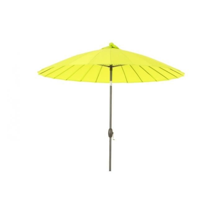 parasol droit rond boyeros hesperide vert granny achat vente parasol parasol droit rnd. Black Bedroom Furniture Sets. Home Design Ideas