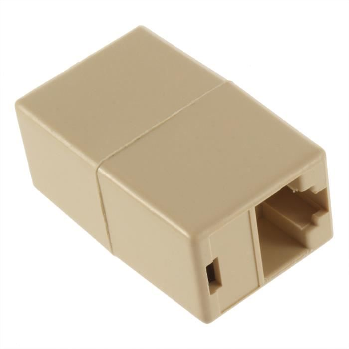 CÂBLE RÉSEAU  MHP ® RJ45 monoconducteur coupleur / réseau Eth…