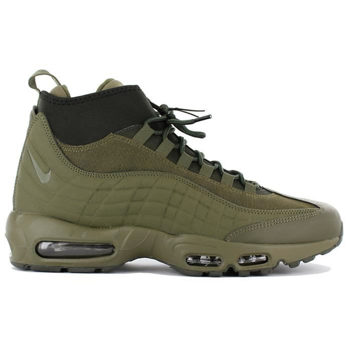 design de qualité 93f97 f005c Nike Air Max 95 Sneakerboot 806809-202 Boots Vert Chaussures Homme Sneaker  Baskets Pointure: EU 44 US 10