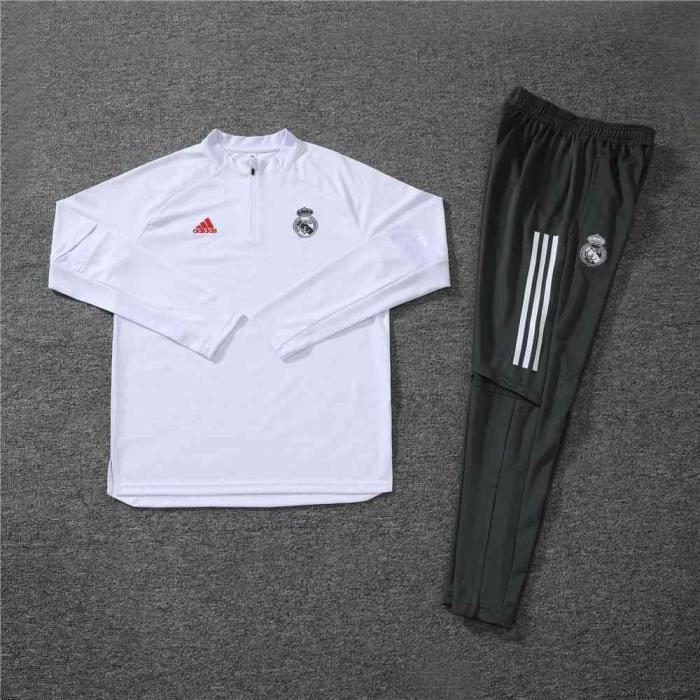 Nouveau Survetement Real Madrid 2020 2021 Maillot De Foot Football Soccer Maillot Pantalon Pas Cher Pour Homme Prix Pas Cher Cdiscount