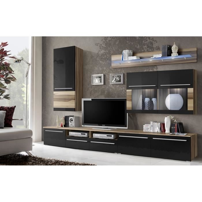 meuble tele mural. Black Bedroom Furniture Sets. Home Design Ideas