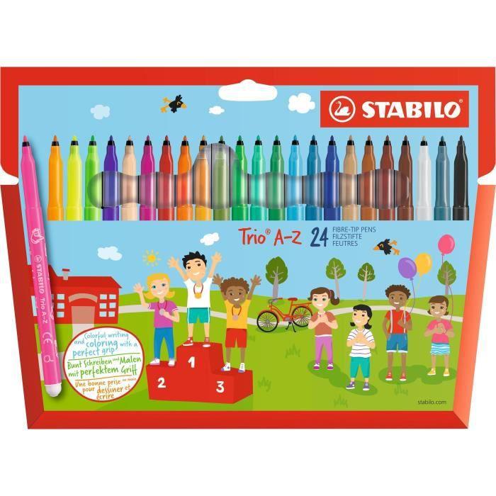 30 Fibre Stylos Set de Artbox Arts and Crafts Enfants 13 couleurs école maison
