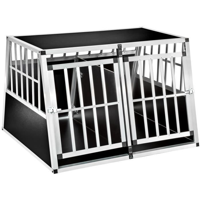 cage de transport 2 chiens achat vente cage de transport 2 chiens pas cher cdiscount. Black Bedroom Furniture Sets. Home Design Ideas