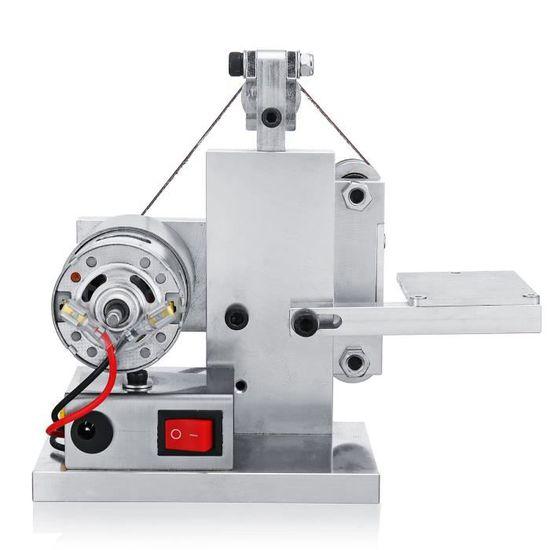 Mini Ponceuse à bande DIY Ponçage meulage électrique Machine à polir 330x10MM