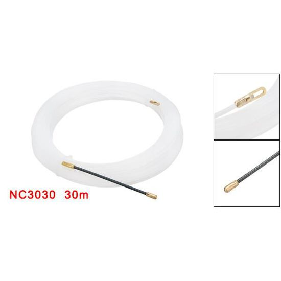 enfileur fils /électrique sourcing map 98 pieds Ruban nylon diam/ètre 0.16in 30M 4mm