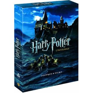 DVD FILM Harry Potter - L'intégrale 8 films - Coffret DVD