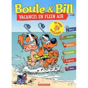 LIVRE JEUX ACTIVITÉS Boule & Bill