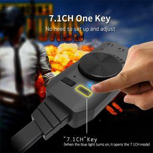 PC EN KIT Virtual USB 2.0 3D 7.1 canaux Adaptateur USB Carte