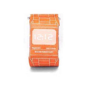 MONTRE SHA smartwatch montre intelligent en Papier orange