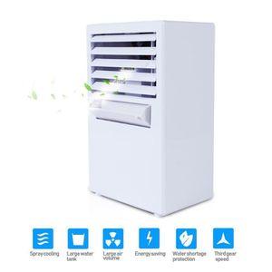 VENTILATEUR DE PLAFOND Mini Ventilateur Climatiseur Portable 9,5 Pouces E