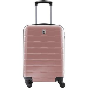 VALISE - BAGAGE CITY BAG Valise Cabine Ultralight ABS 4 Roues Rose