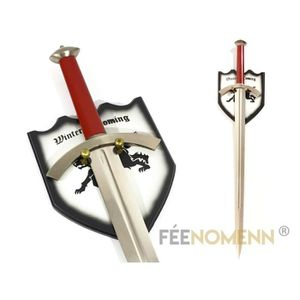 Epee game of thrones achat vente epee game of thrones pas cher les sold - Objet game of thrones ...